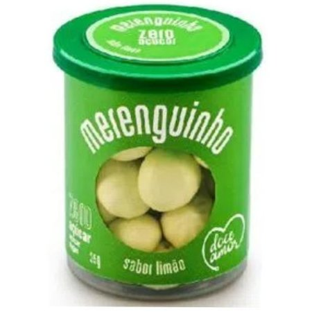 Merenguinho Zero Açúcar Sabor Limão 35g - Doce Amor
