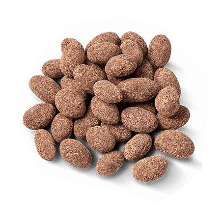 Amêndoa Drageada com Chocolate 70% 100g - 100% Natural