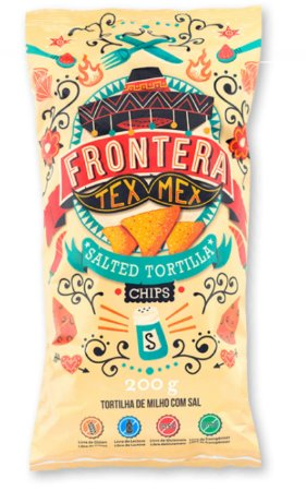 Tortilha de Milho com Sal Tex Mex 200g – Frontera