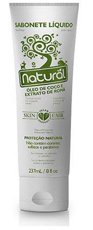 Sabonete Líquido Natural – Óleo de coco e extrato de romã 237ml – Suavetex