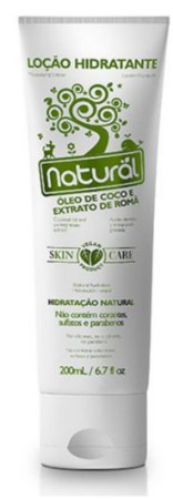 Loção Hidratante Natural – Óleo de coco e extrato de romã 200ml – Suavetex