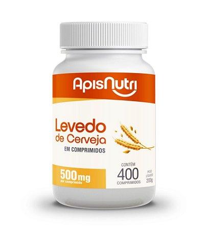 Levedo de lerveja em comprimidos – 400 comprimidos de 500mg – ApisNutri.