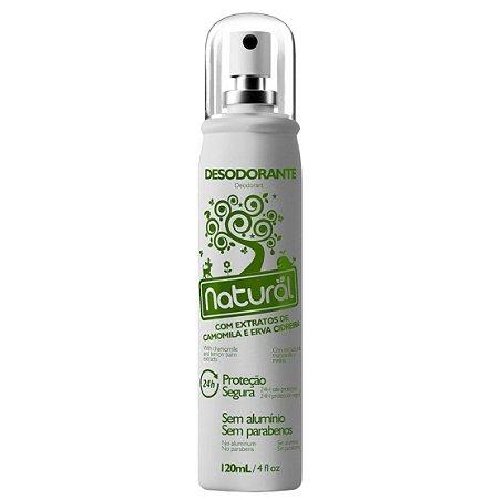 Desodorante Spray com Camomila e Erva Cidreira Natural 120ml - Suavetex