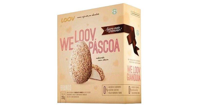 Ovo de Chocolate Branco ao leite de coco We loov Páscoa 250g – Loov