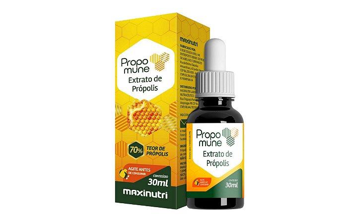 Extrato de Própolis Propomune 30ml em gotas – Teor de Própolis 70% - Maxinutri.