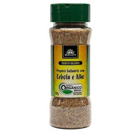 Preparo Culinário de Cebola e Alho (orgânico) em pó 120g  – Kampo de Ervas