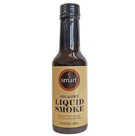 Molho de Fumaça Líquida – Nogueira – 148 ml – Smart