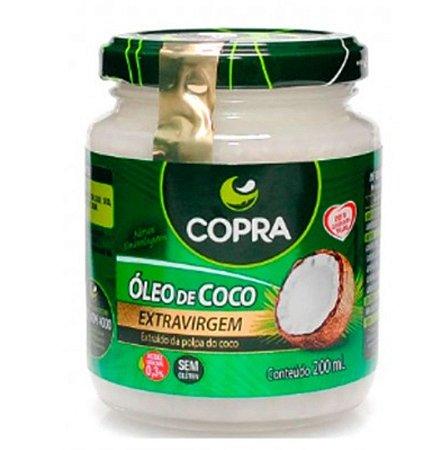 Óleo de Coco Extravirgem – 200ml – Copra