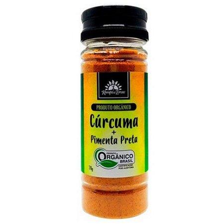 Cúrcuma + Pimenta Preta Orgânico 70g – Kampo de Ervas