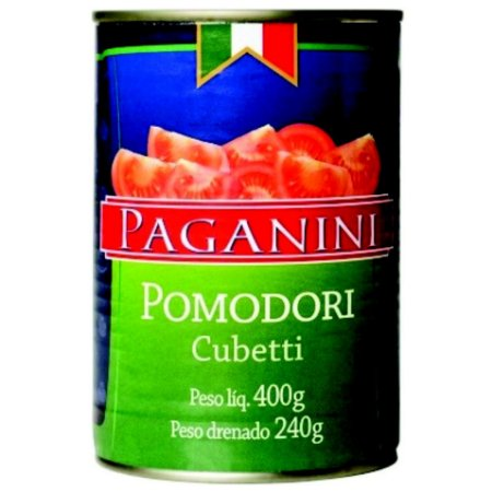 Pomodori Cubetti (Tomate em Cubos) 400g – Paganini
