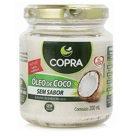 Óleo de coco sem sabor e sem cheiro 200ml - Copra