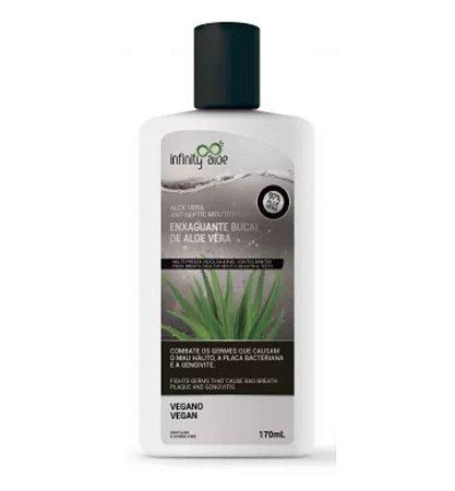 Enxaguante Bucal Vegano 97% Aloe Vera 170ml – Infinity Aloe