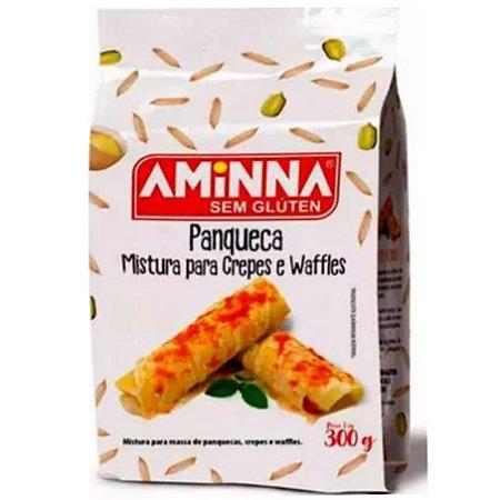 Mistura sem glúten para panqueca, crepes e waffles  300g - Amina