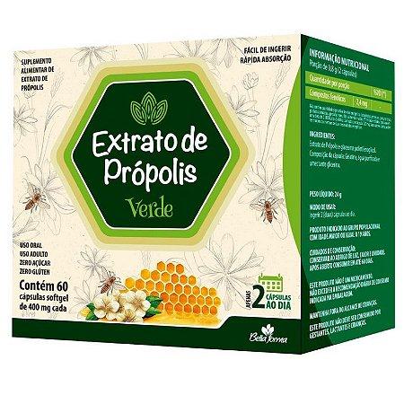 Extrato de própolis verde em cápsulas (60 cápsulas) – Bella Forma