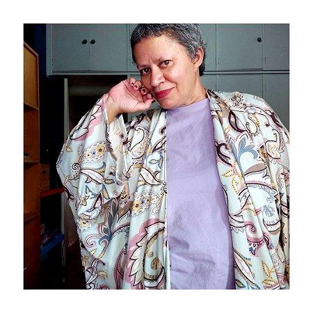Kimono Midi Arabesco