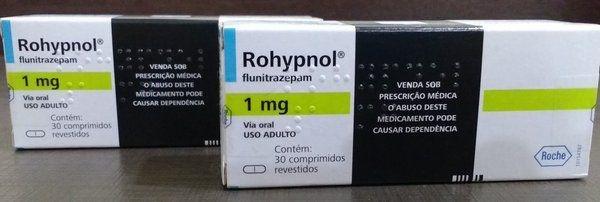 ROHYPNOL 1MG - CAIXA COM 30 COMPRIMIDOS
