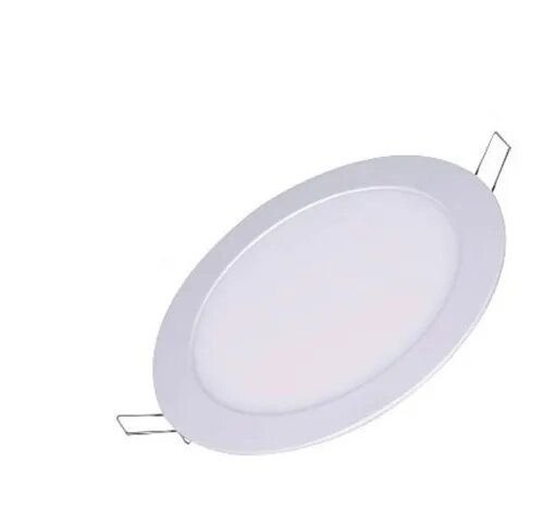 Plafon Luminária Led Embutir Redondo 12w Branco Frio