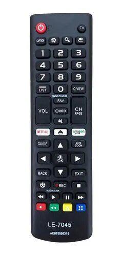 Controle Tv LG Smart/botões Netflix E Amazon