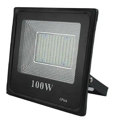 Refletor Holofote Led Luz branca 100w
