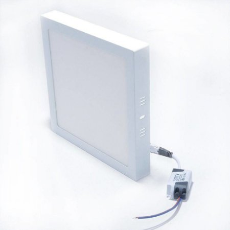 Plafon de 12w quadrado sobrepor Branco Frio