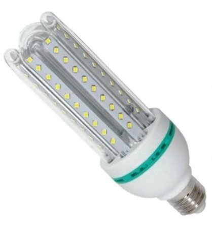 Lâmpada Compacta Led Milho 12w E27 Branco Frio 6500k