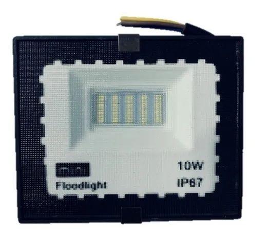 Refletor Holofote Led 10w Ip66 Branco Frio - Bivolt