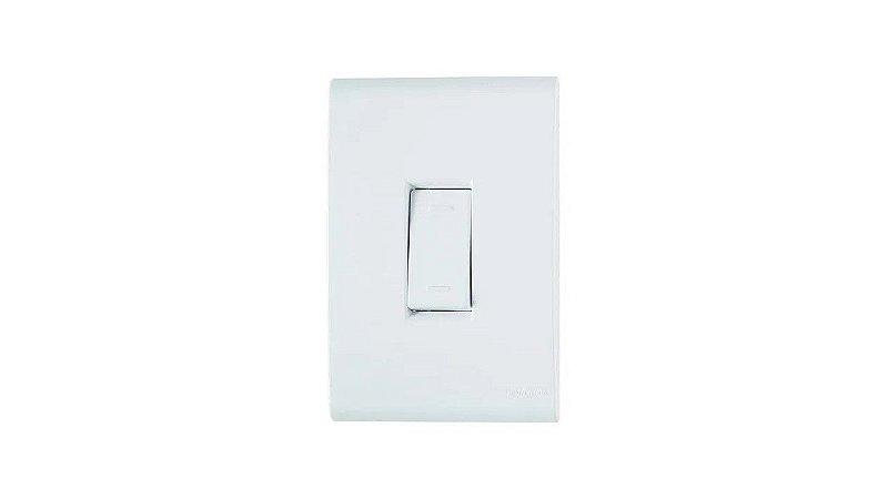 Interruptor Simples 4x2 Branco Tramontina Liz