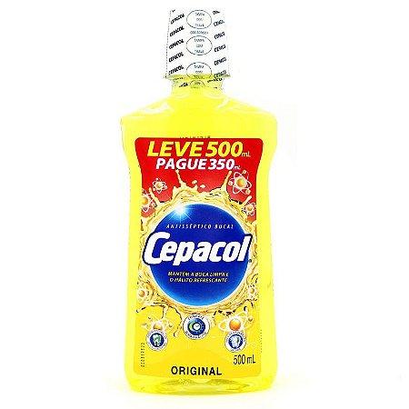 Enxaguante Bucal Cepacol Tradicional 500ml