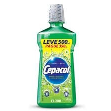 Enxaguante Bucal Cepacol Flúor 500ml