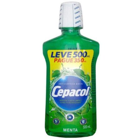 Enxaguante Bucal Cepacol Menta 500ml
