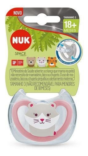 CHUPETA SPACE SILICONE 18M+ GIRL - NUK