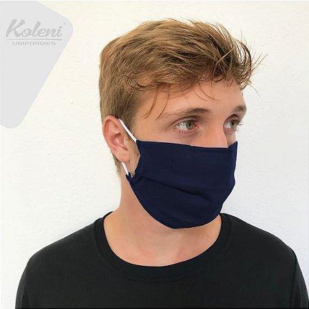 Máscara de proteção - COR AZUL MARINHO