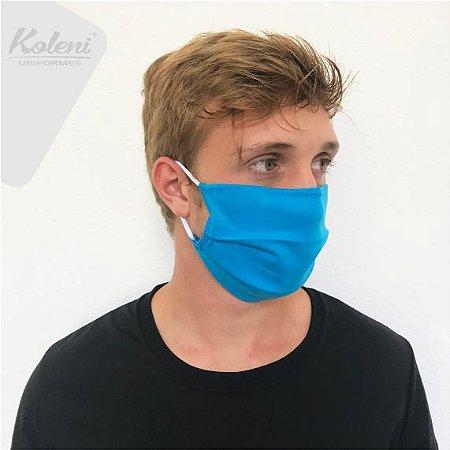 Máscara de proteção - COR TURQUESA