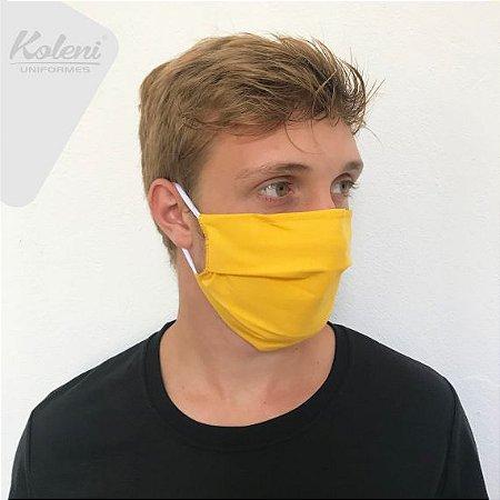 Máscara de proteção - COR AMARELO