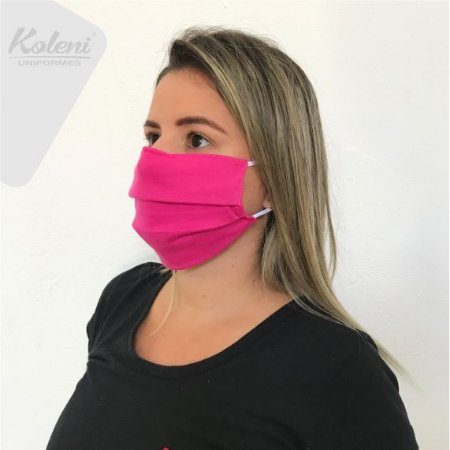 Máscara de proteção - COR PINK