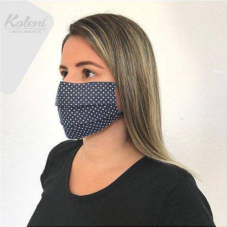 Máscara de proteção - REF 429 MARINHO/BRANCO