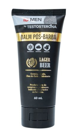 BALM PÓS-BARBA BY TESTOSTERONA LAGER BEER 60mL