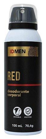 DESODORANTE RED AEROSSOL 100mL