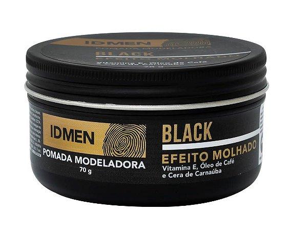 POMADA BLACK  EFEITO MOLHADO 70g