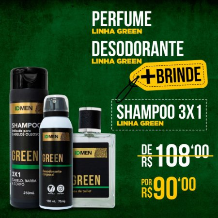 KIT + BRINDE SHAMPOO GREEN