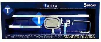 KIT ACESSÓRIOS TALITA 5 PC 9020 STANDER QUADRA