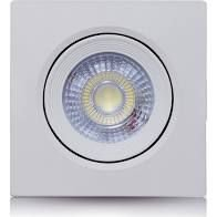 SPOT QUADRADO 5w LED VIT LUZ BRANCA SLQ 5065