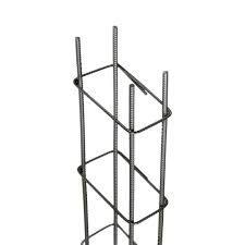 COLUNA ARMADA 10x20cm FERRO 8x4,2mm COM 6MT