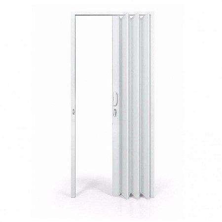 Porta sanfonada branca 60cm