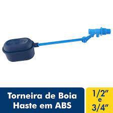 TORNEIRA DE BOIA HASTE ABS FORTLEV COD IND 16700131