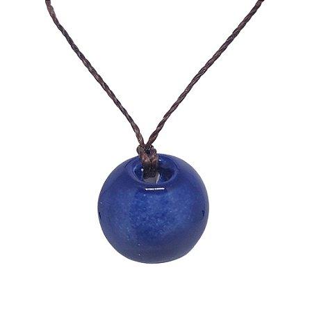 Colar Difusor Pessoal Blue |Barro Blue