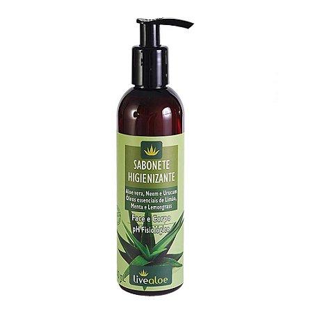 Sabonete Higienizante Face e Corpo Aloe Vera, Lippia e Urucum 230g |LiveAloe
