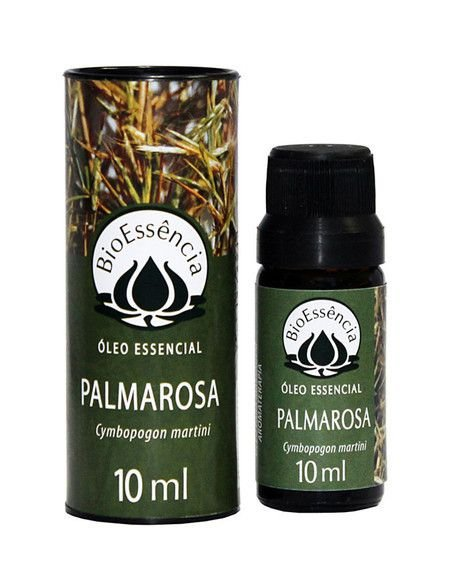 Óleo Essencial Palmarosa 10ml   BioEssência