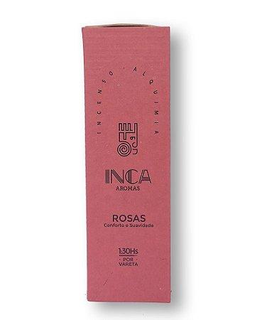 Incenso Terapêutico Natural ROSAS |Inca Aromas