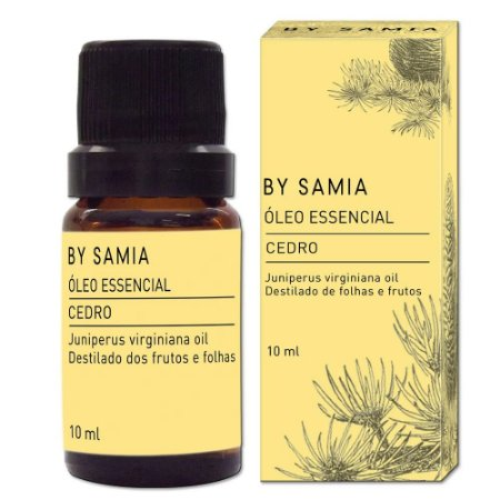 Óleo Essencial Cedro 10ml | By Samia